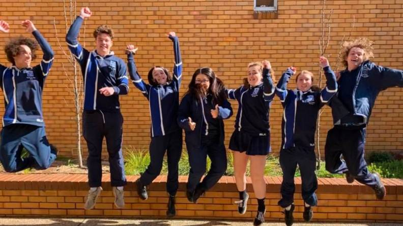 CLASS OF 2020: The Henry Lawson High School Year 12 students started their HSC this week. Photo: THLHS.