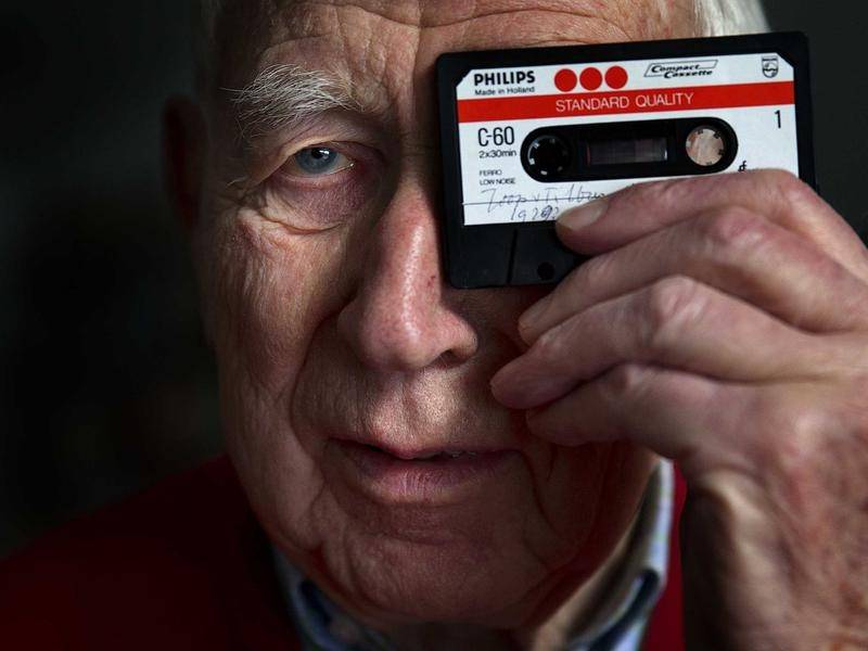 Dutch engineer Lou Ottens presented the first cassette at an electronics fair in 1963.